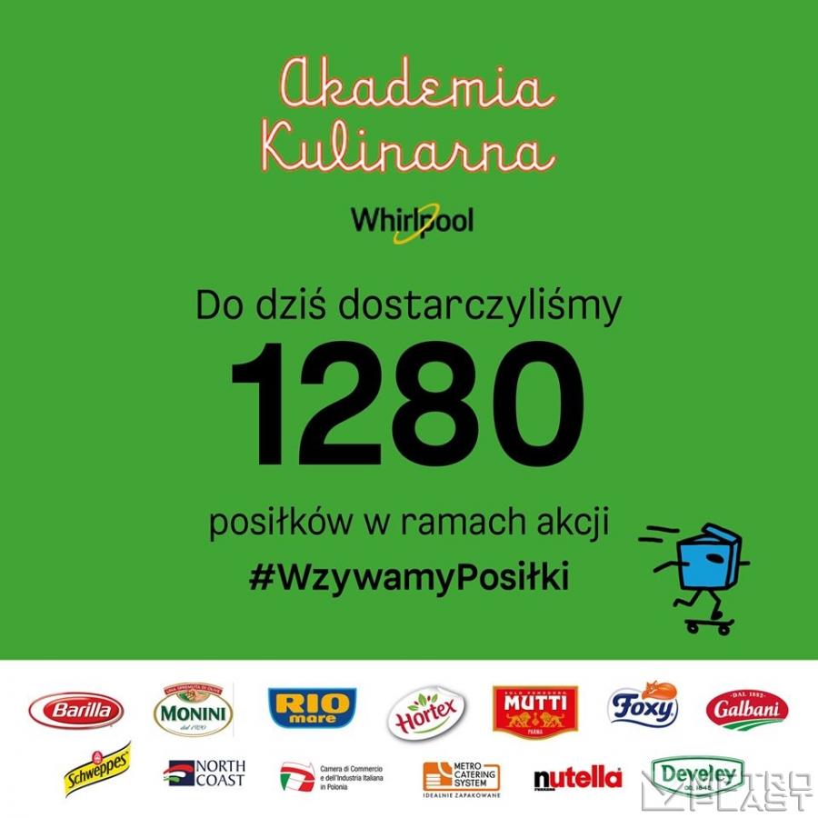 1280 posiłków z M-C-S!